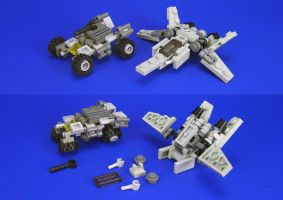 Lego - JR Vehicle Sets by Lalam24