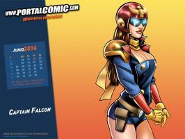 Captain Falcon by PortalComic