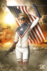 Lady America Commission 1 by Jeffach