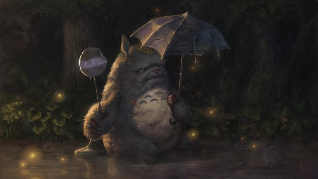 When Totoro gets old -- Version 2 by Starrrrrrry