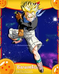 DBGT Trunks ssj V2 by Metamine10