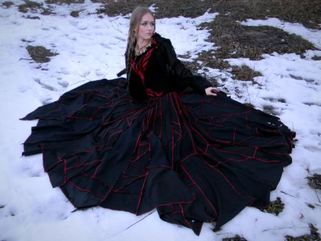 Costume 'Exodus of the phoenix' by Flower-in-dust