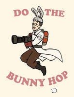 Bunny Medic for friend by Kata-elf