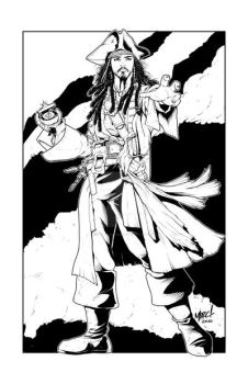 Captain Jack Sparrow by RogueSamurai