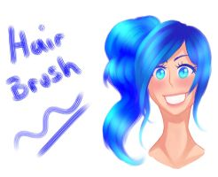 FREE Clip Studio Paint Watercolour Hair brush by DraconianRain