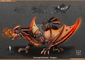 Concept Monster: Dragon by dante2906