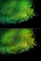 [Found these cool Brushes!] Foliage Practice by Flora-Tea
