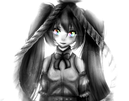 .What colour were that girl's eyes again..?. by Pocky-Poison