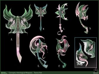 Taurus Axe Concepts by CatCouch
