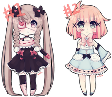 Point Adoptables :: Girls :: CLOSED by gurochii