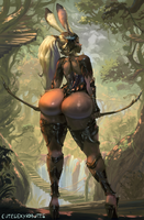 Fran, Final Fantasy XII by cutesexyrobutts