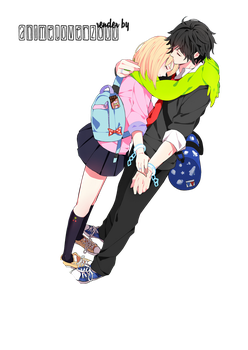 Anime Couple Render 01 by AnimeLover20oo