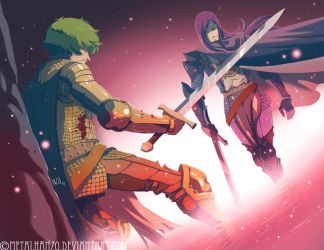 The Duel by HeavyMetalHanzo