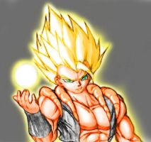 Energy Ball Gogeta by big-e6