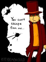 Evil Professor Layton? by kittydemonchild