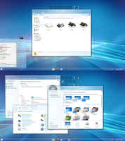 AERO METRO for windows 7 by RaymonVisual