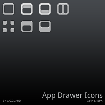 App Drawer Icon Collection 1 by Vazguard