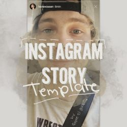 Instagram Story Template HQ by Favrxss