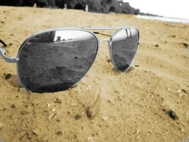 Beached Sunglasses- Day 149 by TiiaBear