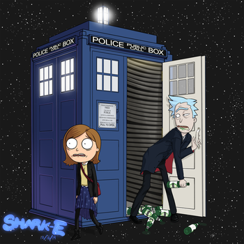 Doctor Wubba Lubba Dub Dub by SHARK-E