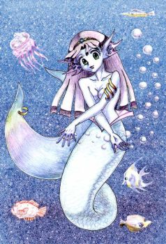 Mermaid  by Silwin