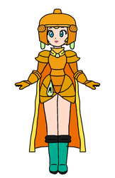 Peach - Vambre (Gold Armour) by KatLime