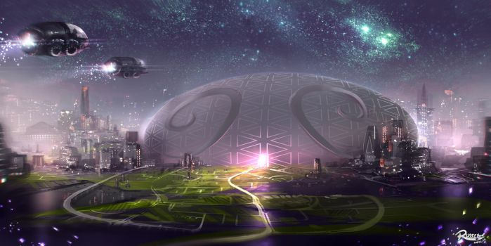 Egg Dome by Ultragriffy