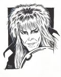 David Bowie as the Goblin King from Labyrinth by AtlantaJones