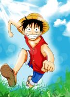Luffy by Heba-chan