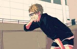 Meant to Be (1/2) | Tsukishima Kei x Reader by the-TomatoBoss on