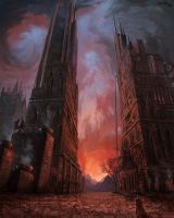 Two Towers by kircida