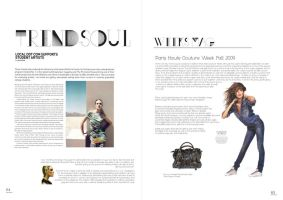 Magazine Layout by awsmkid
