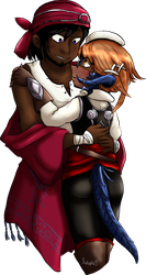 Commission - Altani and Tyraeus by Selaphi