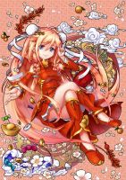 Happy Chinese New IA(Year) by crazypencheng