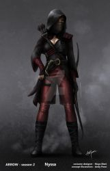 Heir To The Demon - Nyssa Al' Ghul by AndyPoonDesign
