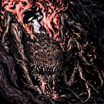 Dark Souls Bosses 6/25 Chaos Witch Quelaag by TheIvoryFalcon