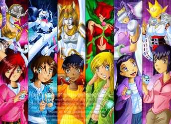We Are Digidestined W.I.T.C.H. by Galistar07water