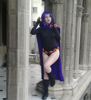 Raven Cosplay, Teen Titans by Calista-Cosplayer