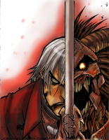 Devil May Cry colored by me! (2) by Gman20999