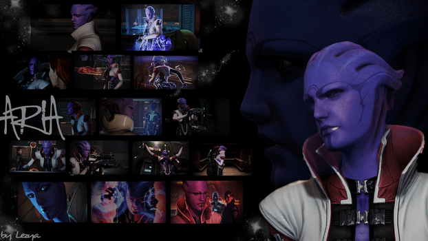 Aria T'Loak Collage by Lezya