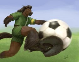 Soccer Player by PeppeTi