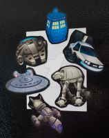 Ship Magnets by Hawkstone