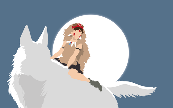 Princess Mononoke by Dingier