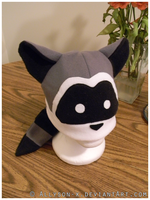 Raccoon Hat by Allyson-x