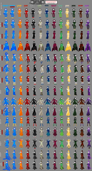 Homestuck God Tier Classes And Aspects by zynwolf