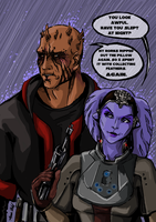SWTOR - Serious Problems Of Being A Zabrak by anne-wild