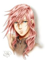 Lightning Farron by SerenaKaori87