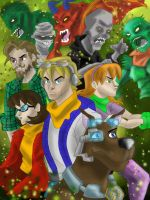 Scooby Doo: Werecats and Werewolf by AvengerBlackwidow on ...