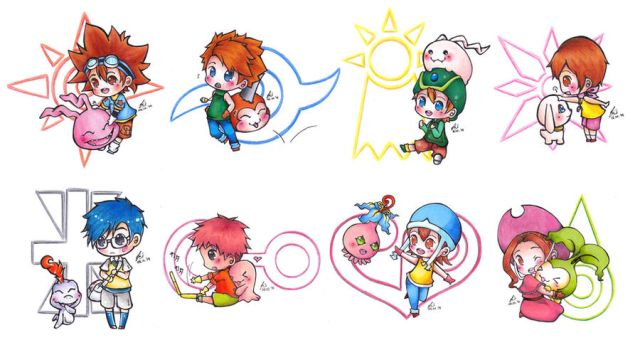Digimon Adventure by DeliciousPocky