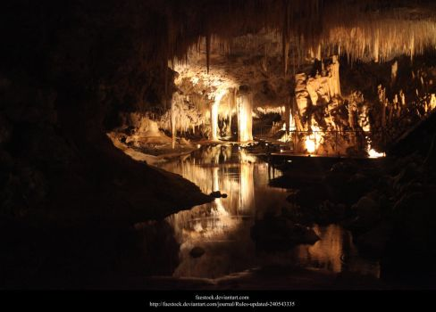 Lake Cave7 by faestock